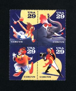 USA  #2750-53 used  1993 PD