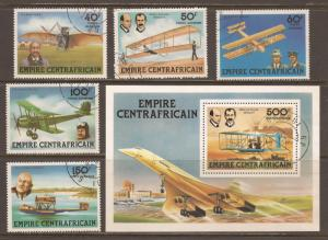 Central  African  Empire  # C 194 - 99   used  CTO        A