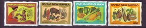 J21915 Jlstamps 1982 png set mnh #562-5 food