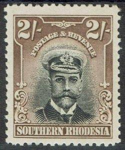 SOUTHERN RHODESIA 1924 KGV ADMIRAL 2/- MNH **