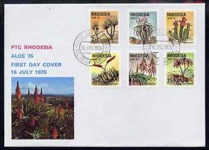Rhodesia 1975 Aloe \'75 International Succulent Congress ...
