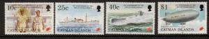 CAYMAN ISLANDS SG805/8 1995 END OF SECOND WORLD WAR MNH