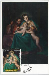 62770  - PARAGUAY - POSTAL HISTORY: MAXIMUM CARD 1971 - ART:  Goya
