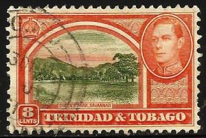 Trinidad & Tobago 1938 Scott# 56 Used