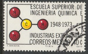 MEXICO 1056, 40c Anniv of Chemical Engineering School USED. F-VF. (364)