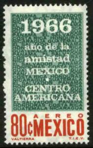 MEXICO C317 Friendship with the Central American Nations MNH. VF.