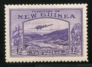 NEW GUINEA SCOTT#C44 MINT NEVER HINGED EVENLY TONED FULL ORIGINAL GUM
