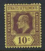 Straits Settlements Edward VII SG 159  Mint Hinged