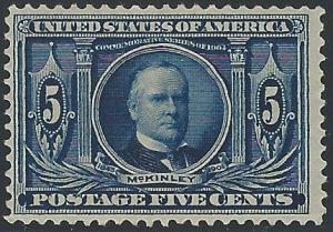 Scott #326, Unused, Original Gum, 1904-7 Louisiana-Jamest...
