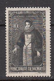 Monaco SC# B63  1942 Grimaldi S/P MNH
