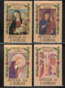 ANTIGUA Scott 905-908 MNH** Christmas stamp set