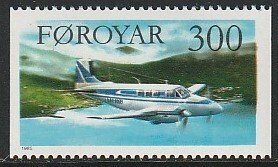 1985 Faroe Islands - Sc 137 - MNH VF - 1 single - Interisland LM-IKB