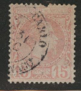 Monaco Scott 5 Used Prince Charles III 1885 pulled perf CV$18