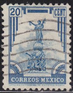 Mexico 715 Independence Monument, Puebla 1935