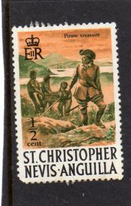 St Christopher/Nevis/Anguilla 1970 Def  MH