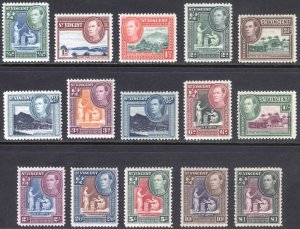 St Vincent 1938 1/2d-£1 Pictorial SG 149-159 Sc 141-151 VLMM/MVLH Cat£55($77)