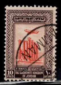 Jordan Scott C9 Used airmail stamp No wmk 1954