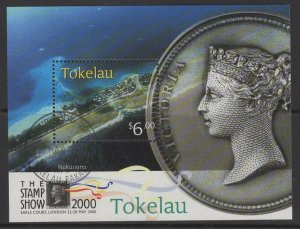 TOKELAU ISLANDS SGMS308 2000 THE STAMP SHOW 2000 FINE USED