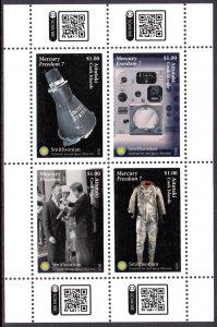 AITUTAKI 2021 SPACE MERCURY ESPACE RAUMFAHRT SPAZIO [#2103]
