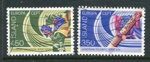 Iceland #554-5 Used