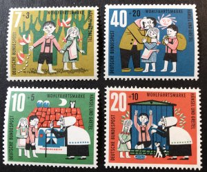 Germany B376-9 MNH SCV $1.55 fairy tales