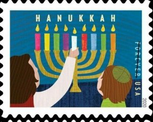5529 Hanukkah US Single Mint/nh FREE SHIPPING Delivery After 10/6