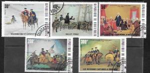 Upper Volta #365 - 367 & C209 - C210 America Bicentennial.  Washington