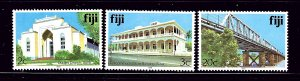 Fiji 410h; 411h; 418h MNH issues inscribed 1988