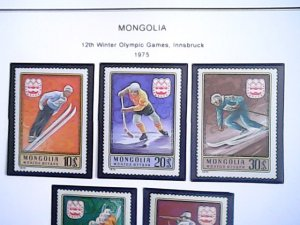 1975  Mongolia   MNH  full page auction