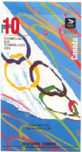 Canada - 1992 Olympic Summer Games Booklet #BK146d