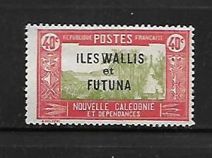 WALLIS & FUTUNA ISLANDS, 54, MINT HINGED, NEW CALEDONIA STAMPS AND TYPES 1928-40
