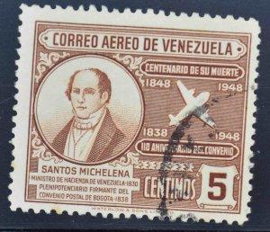 Venezuela  Scott C272  Used Airmail