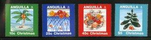 ANGUILLA 937-40 MNH SCV $12.65 BIN $6.75 CHRISTMAS