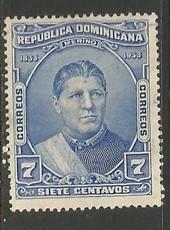 Dominican Republic 271 VFU X830-2