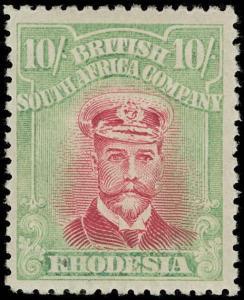 Rhodesia Scott 137 Variety 2 Gibbons 277 Never Hinged Stamp