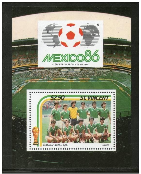 VINCENT SHEET WORLD CUP MEXICO SOCCER FOOTBALL