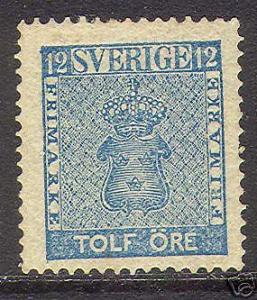 Sweden #9 VF Mint