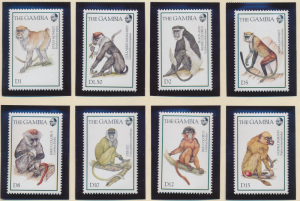 Gambia Stamps Scott #1542 To 1549, Mint Never Hinged - Free U.S. Shipping, Fr...