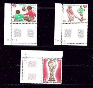 Gabon C207-09 MNH 1978 World Cup Soccer