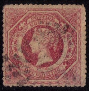 New South Wales Sc #42 Used Rose F-VF
