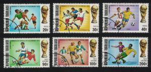 Togo Football World Cup Championship Germany 6v SG#982-987