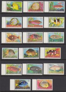 Cocos Islands 34-50 Fish mnh