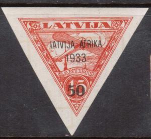 Latvia #C12 XF Mint