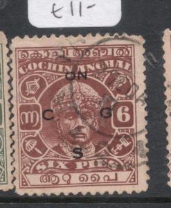 India Cochin SG O55 VFU (5dll)