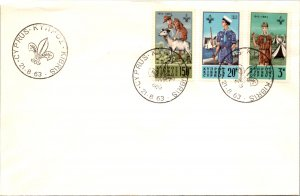 Cyprus, Worldwide First Day Cover, Scouts