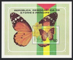 Sao Tome Butterflies MS MI#Block 32 SC#507