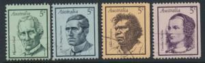 Australia SG 432 - 435 Used