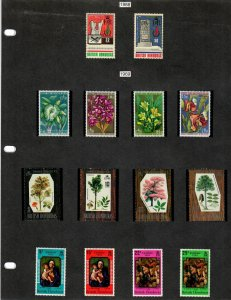 British Honduras Selection of 77 Stamps MH/MNH (SCV $66.30) Starting at 5%