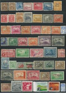 Nicaragua Mixed Lot of 150 (U)&( M) CV $40.00+