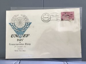 Burma 1961 UNICEF Day Commemorative stamps cover  R29066